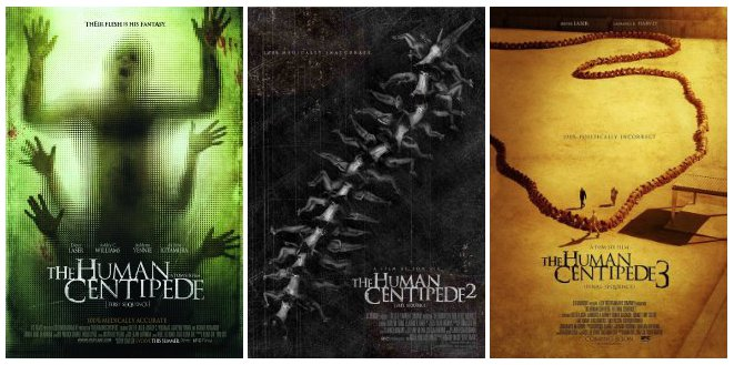 all three human centipede movies